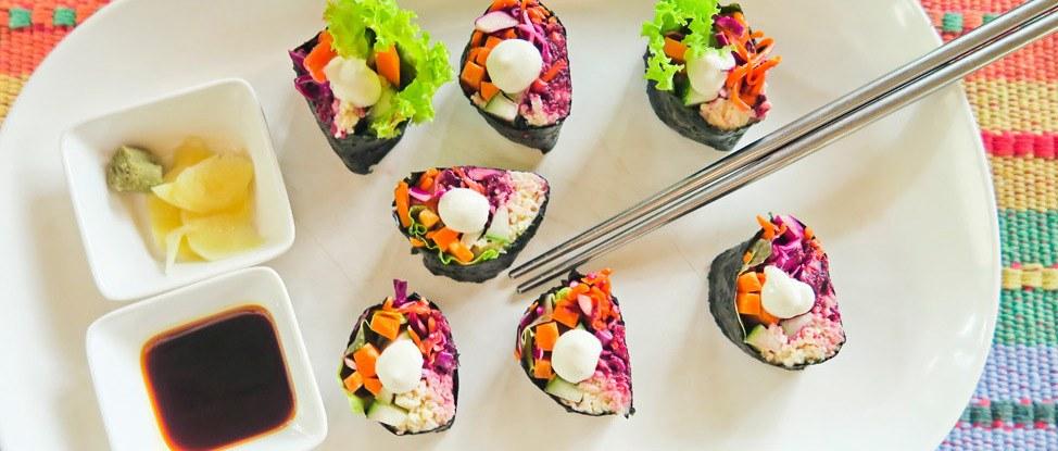 Koh Phangan Vegan Sushi