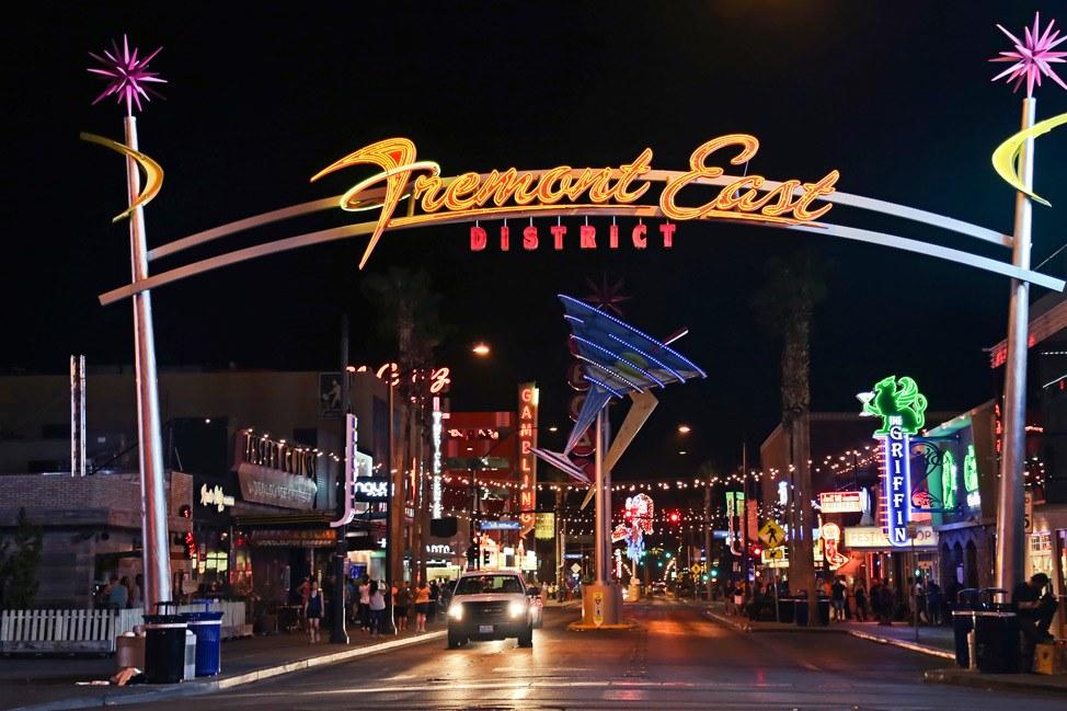 Freemont East District Las Vegas