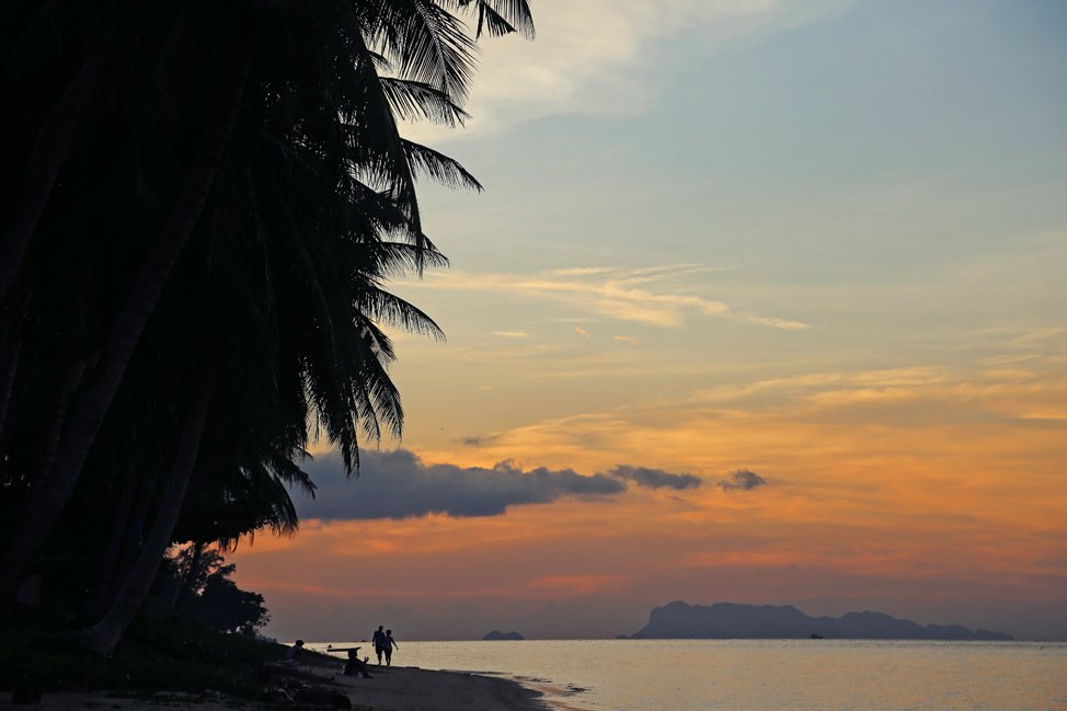 Koh Samui Sunsets Bang Por Beach
