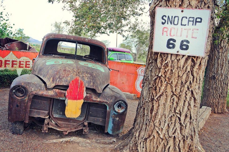 Sno Cap Drive In Seligman Arizona