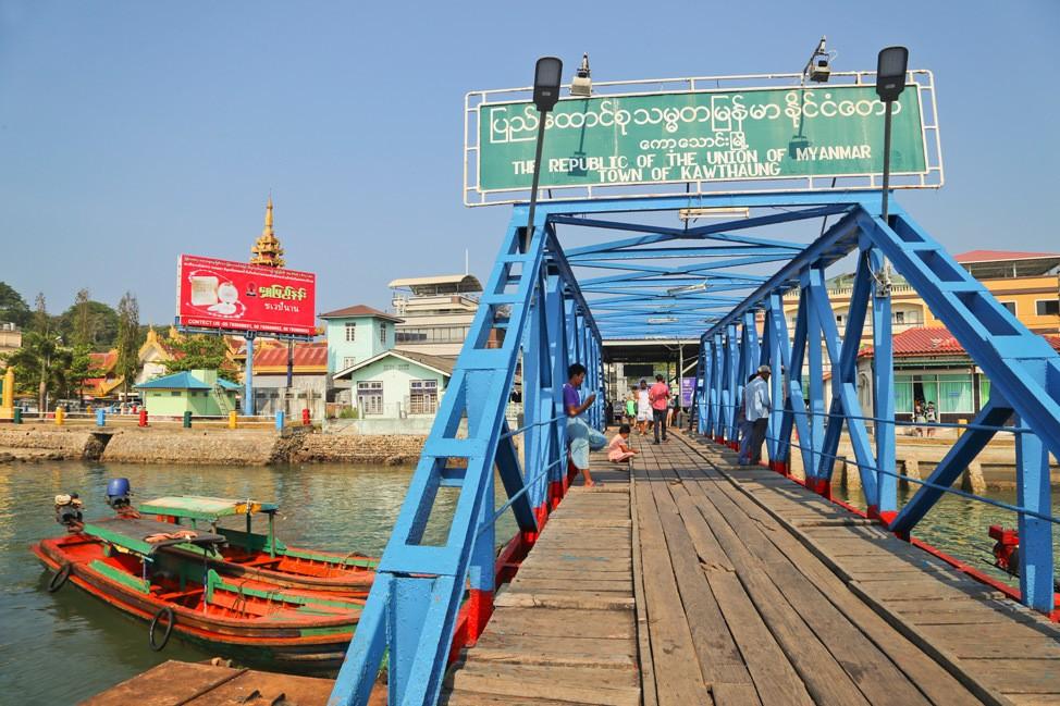Burma Visa Run From Koh Tao
