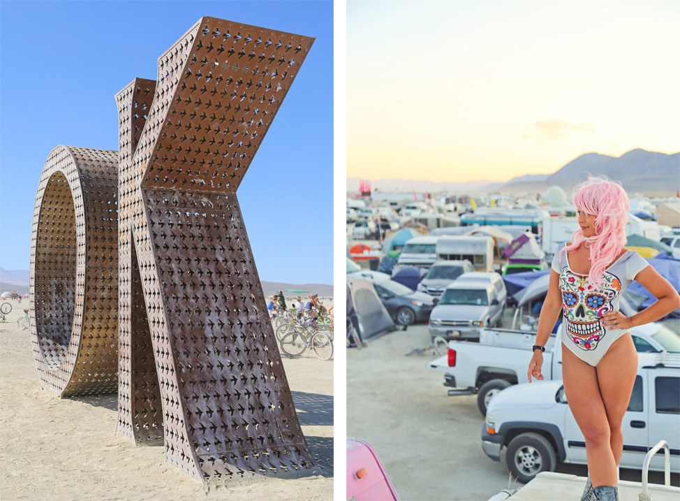Burning Man Photography