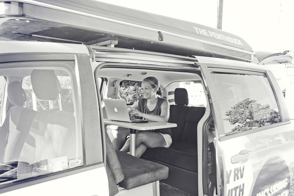 JUCY Camper RV Road Trip