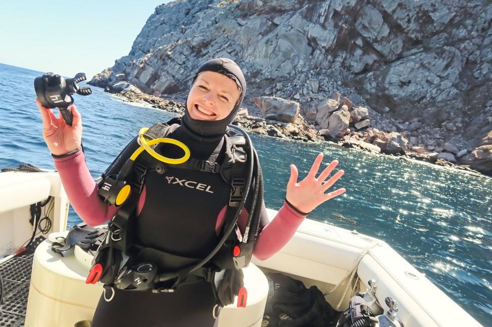 Diving Coronado Islands, Mexico