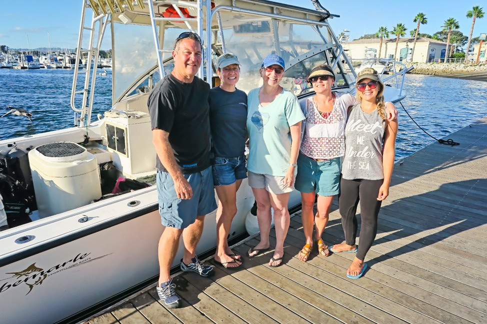 Private Diving Charter San Diego