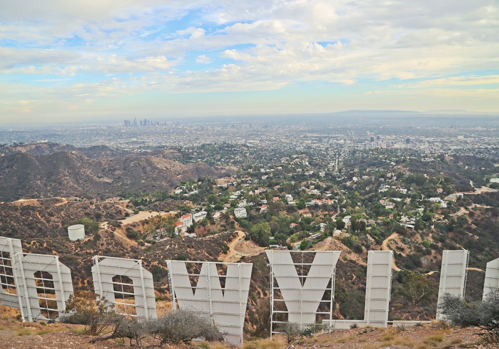 Hiking to the Hollywood Sign