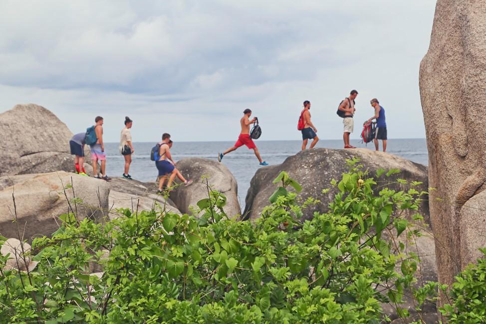 Jump Into Jaws Hiking Koh Tao