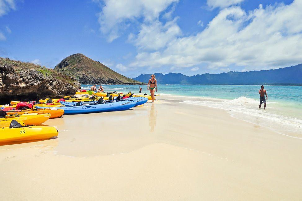 Kayaking Mokulua Islands