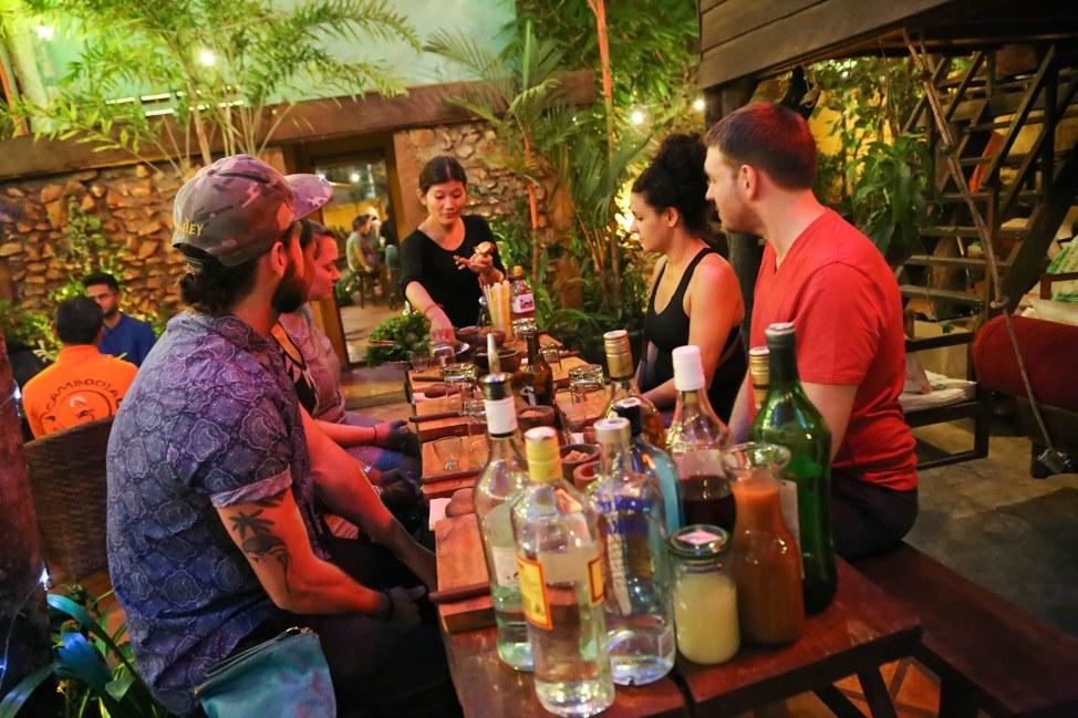 ASANA Khmer Cocktail Making Class