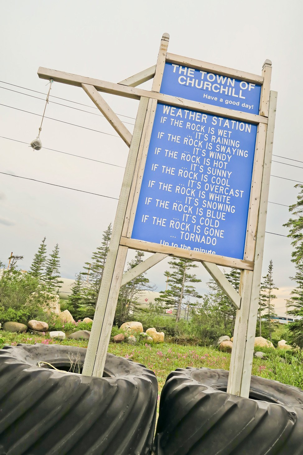 Weather Station Churchill Manitoba