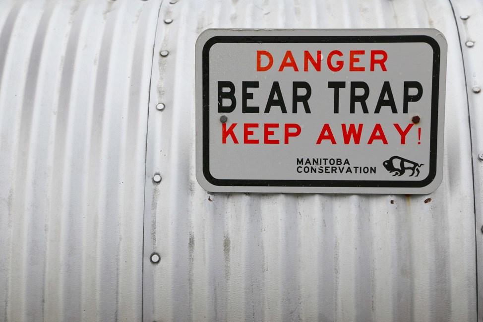 Churchill Manitoba Polar Bear Jail