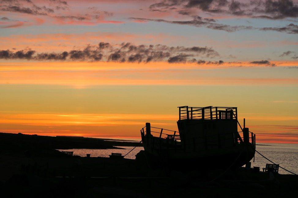 Churchill Manitoba Sunset