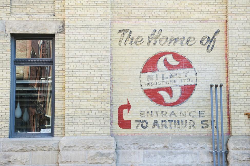 Exchange District Winnipeg