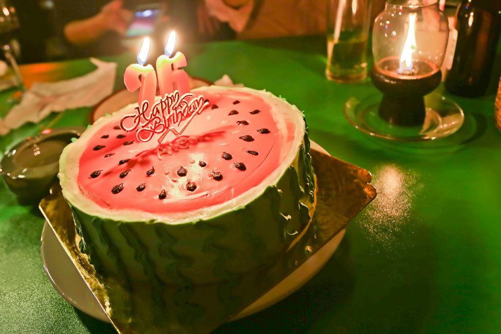 Birthday on Koh Tao
