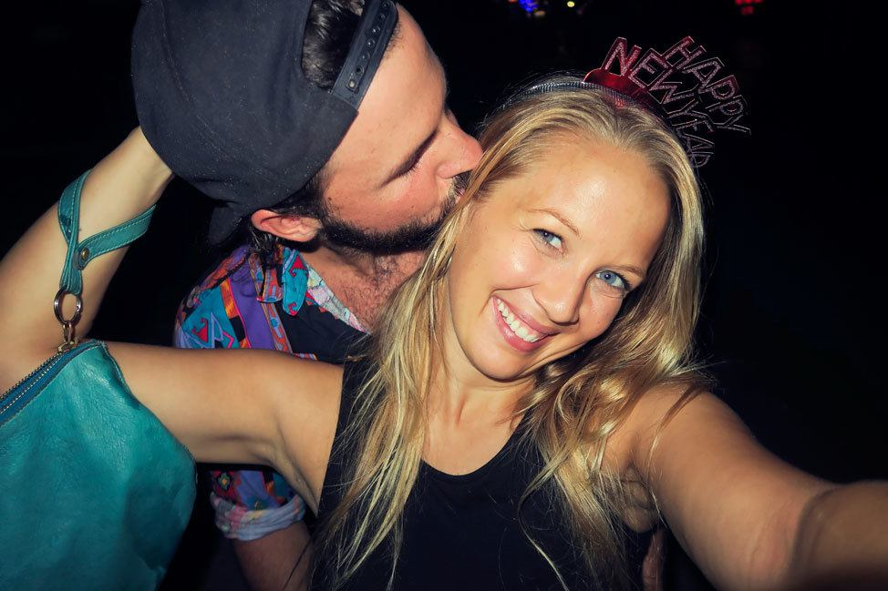 New Year's Eve on Koh Tao
