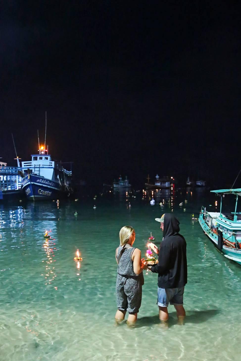 Loy Kratong Koh Tao