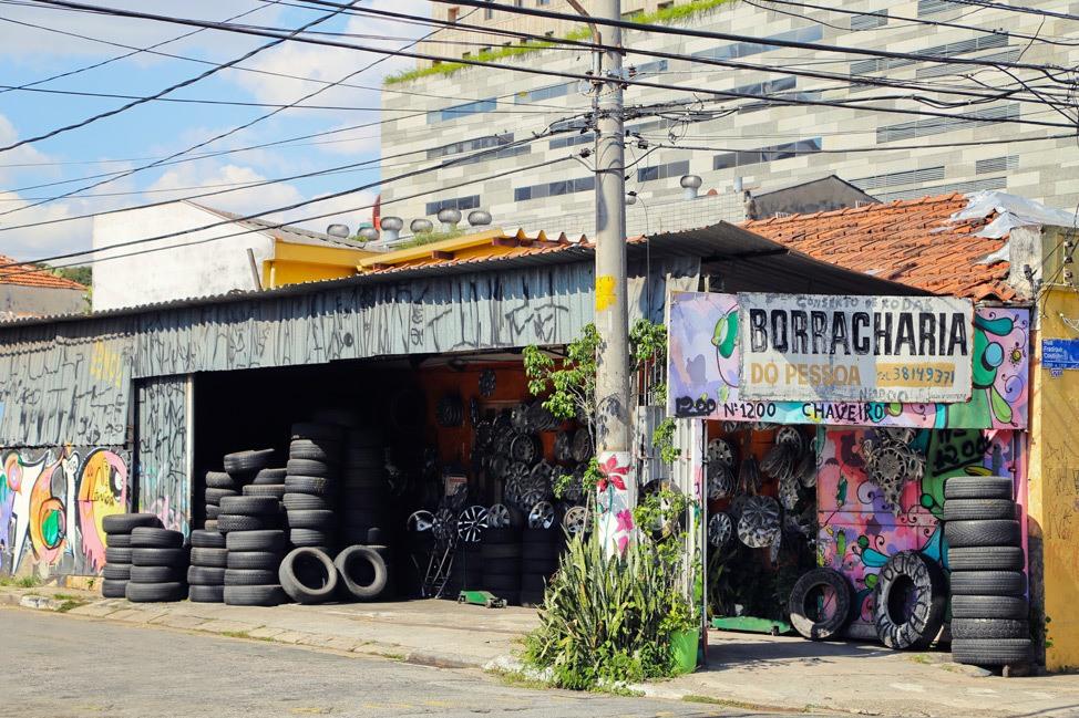 Vila Madalena Sao Paulo Brazil