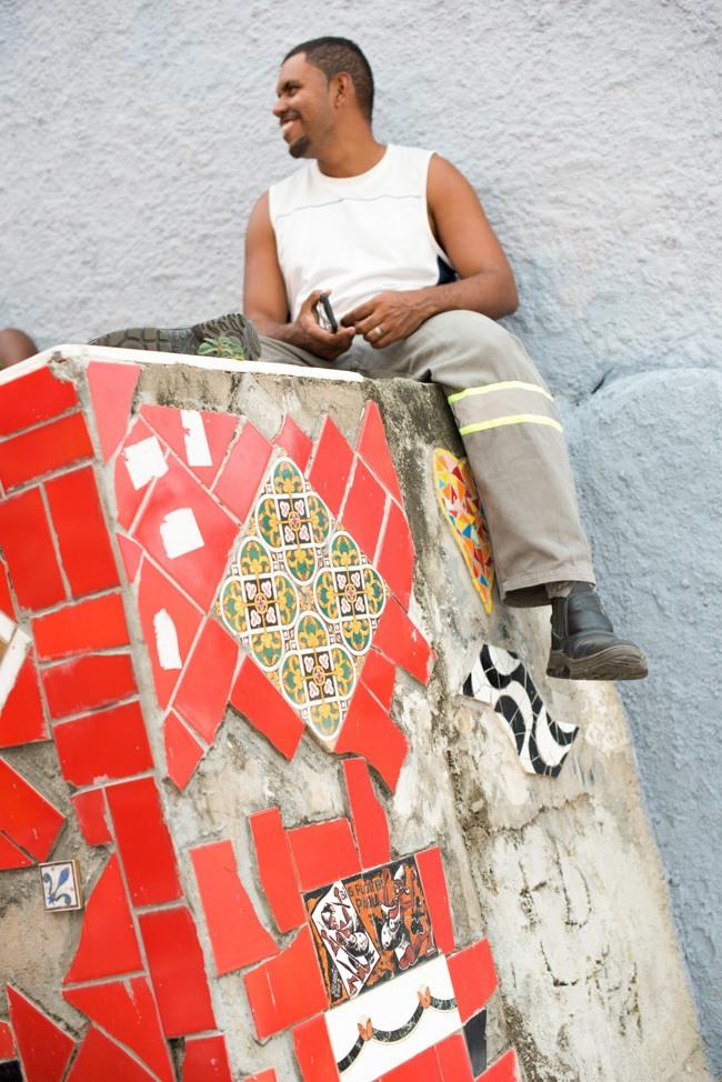 Escadaria Selarón, Lapa, Rio