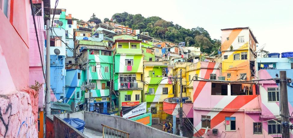 Santa Marta Favela