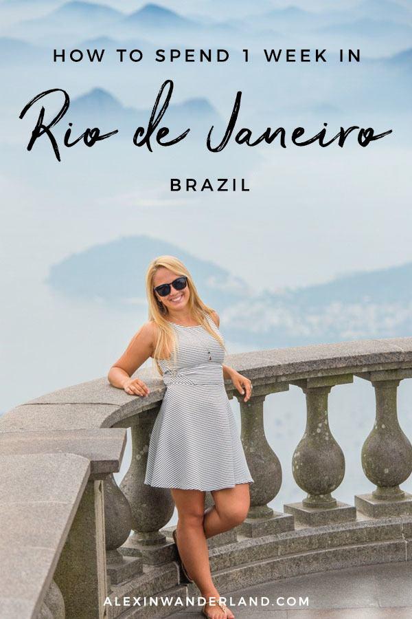 1 Week in Rio de Janeiro