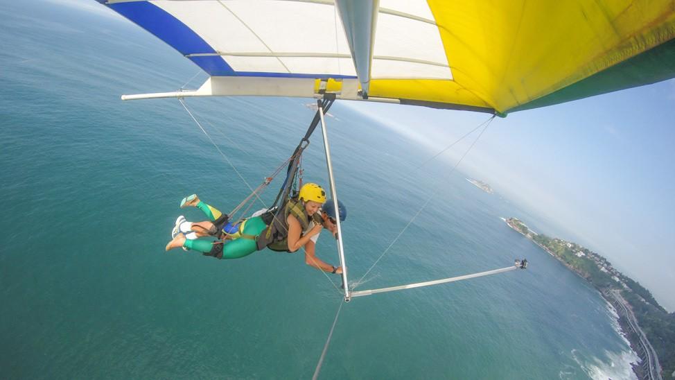 trips easy hang gliding paragliding janeiro brazil