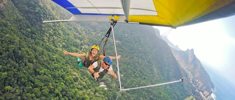 Soaring Over The Land of Samba: Hang Gliding in Rio de Janeiro thumbnail