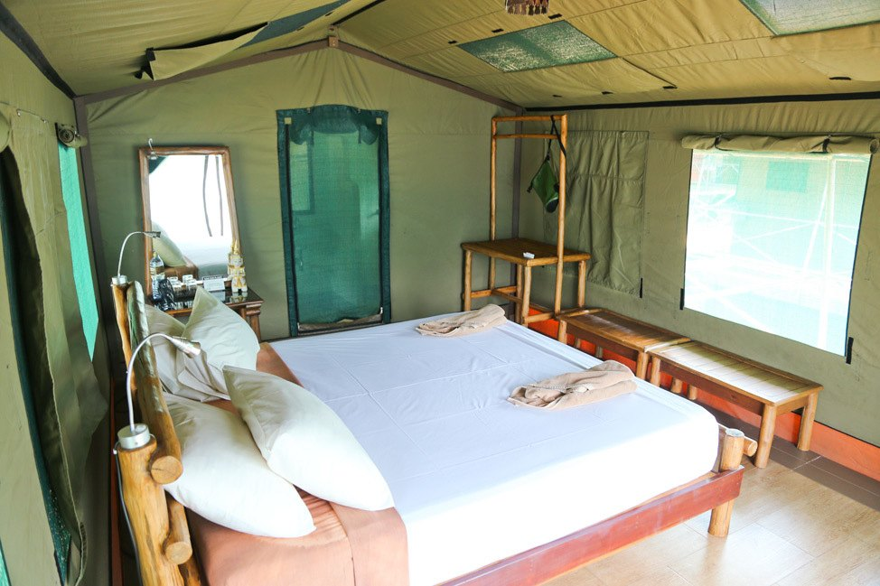 Rainforest Camp at Elephant Hills, Khao Sok, Thailand