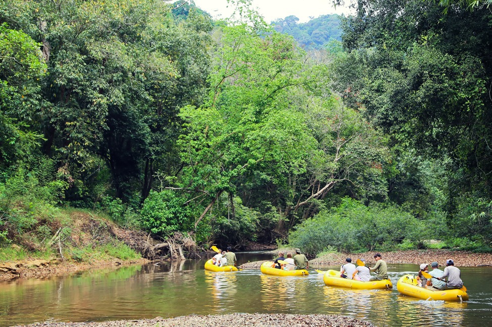 River Rafting at Elephant Hills, Khao Sok, Thailand