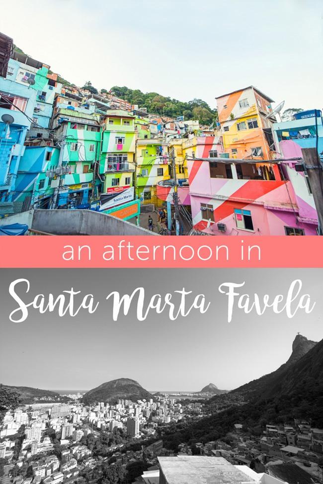 A tour of Santa Marta Favela