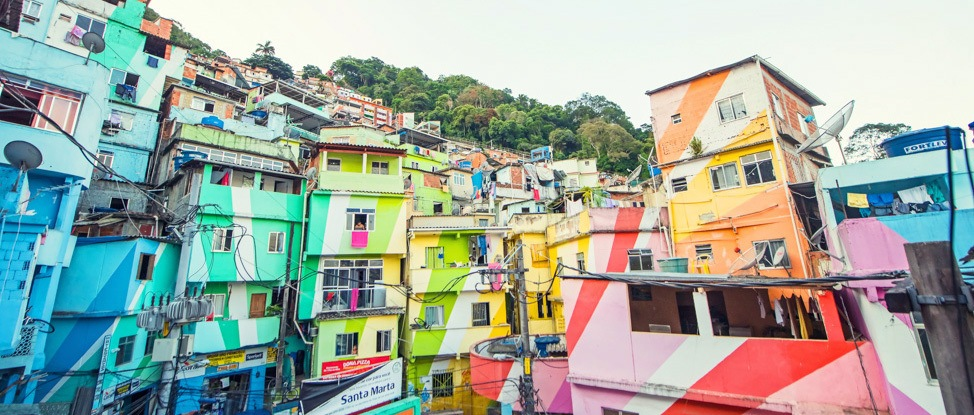 From Bullet Holes to Murals: An Afternoon in Santa Marta Favela thumbnail