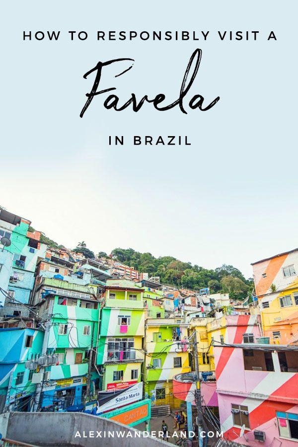 Santa Marta Favela in Brazil