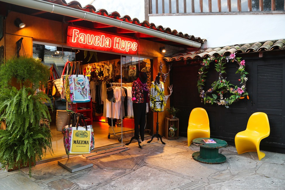 Shopping in Buzios, Brazil