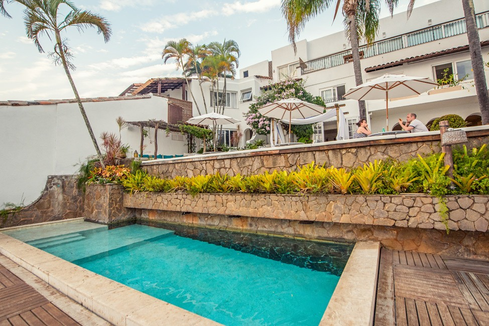 Pool at Casas Brancas, Buzios, Brazil