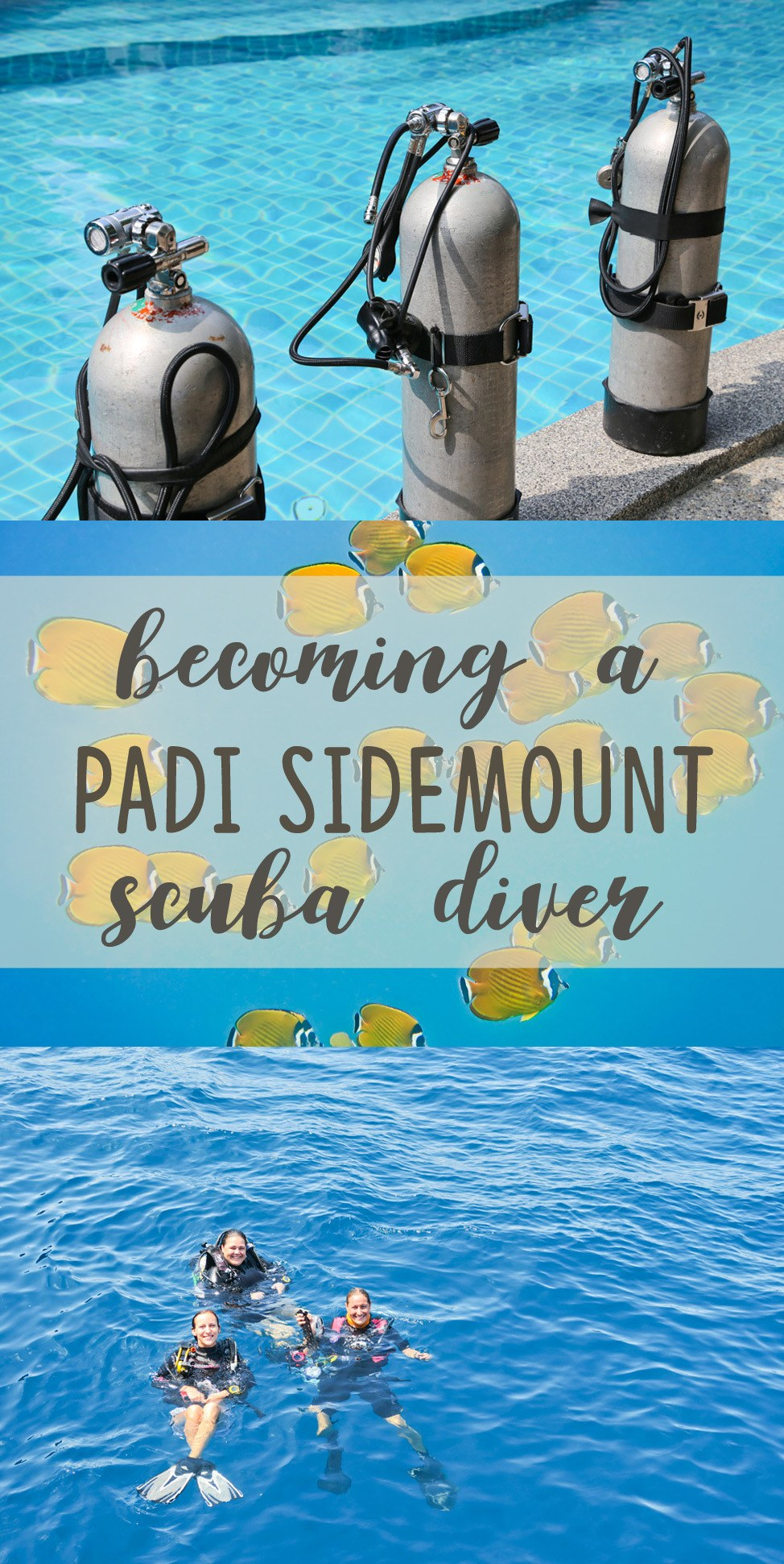Becoming a PADI Sidemount Scuba Diver