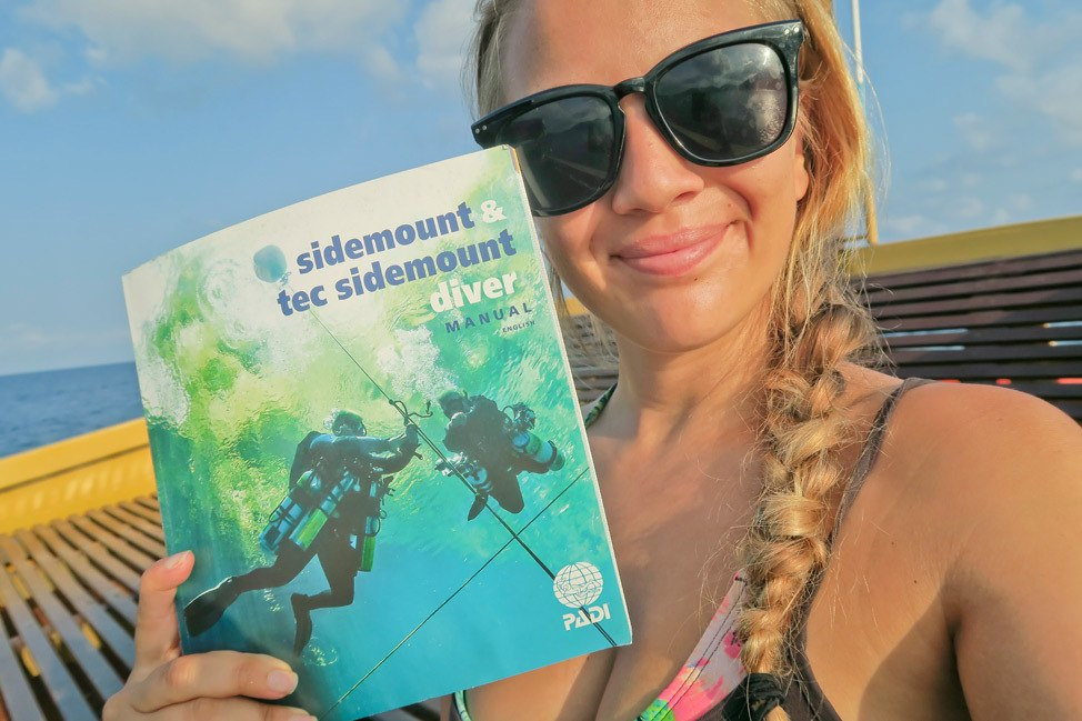PADI Sidemount Diver Speciality