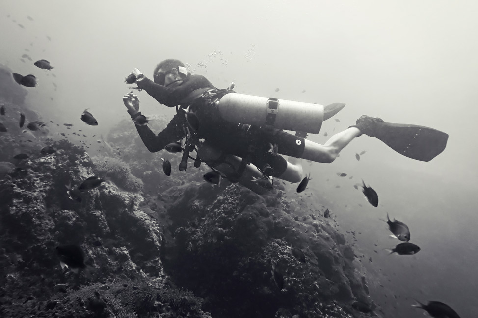 Becoming a PADI Sidemount Scuba Diver