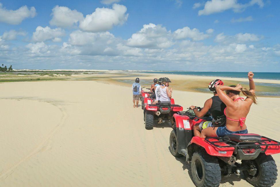 ATV Sand Dune Tour in Jericoacoara, Brazil