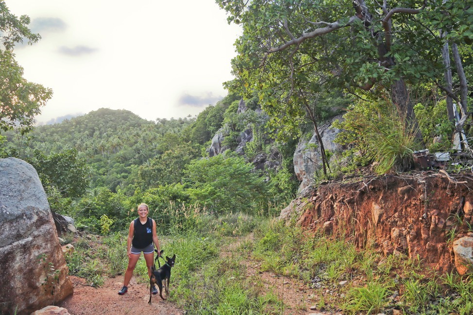 Hiking on Koh Tao