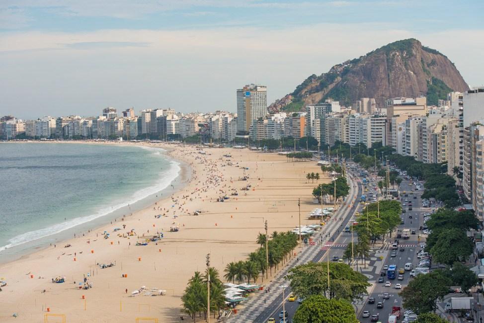 View from Porto Bay Rio Hotel