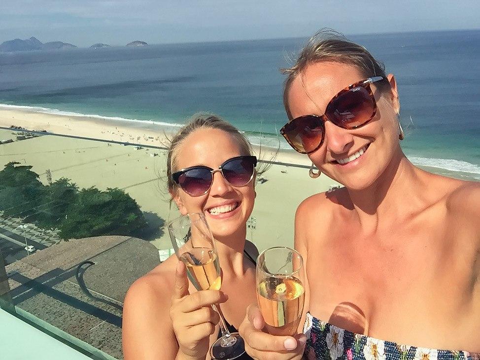 Porto Bay Rio Champagne Welcome Drink