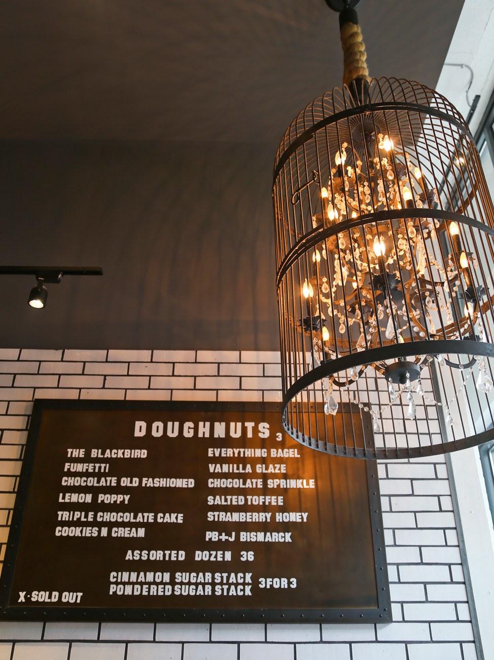 Blackbird Doughnuts Boston