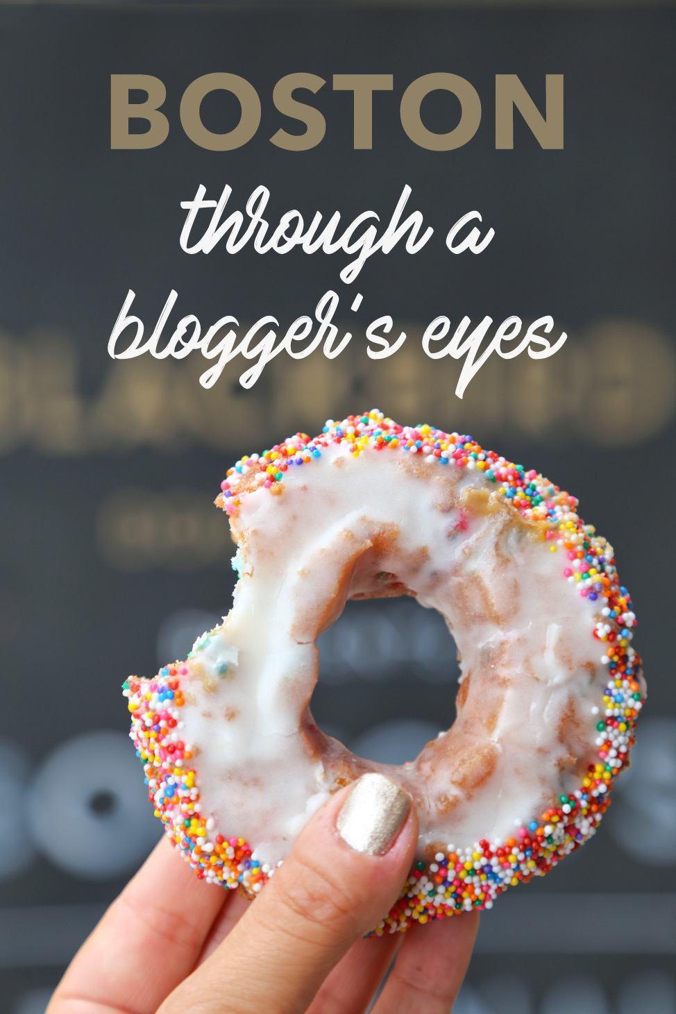 Boston through a Blogger's Eyes