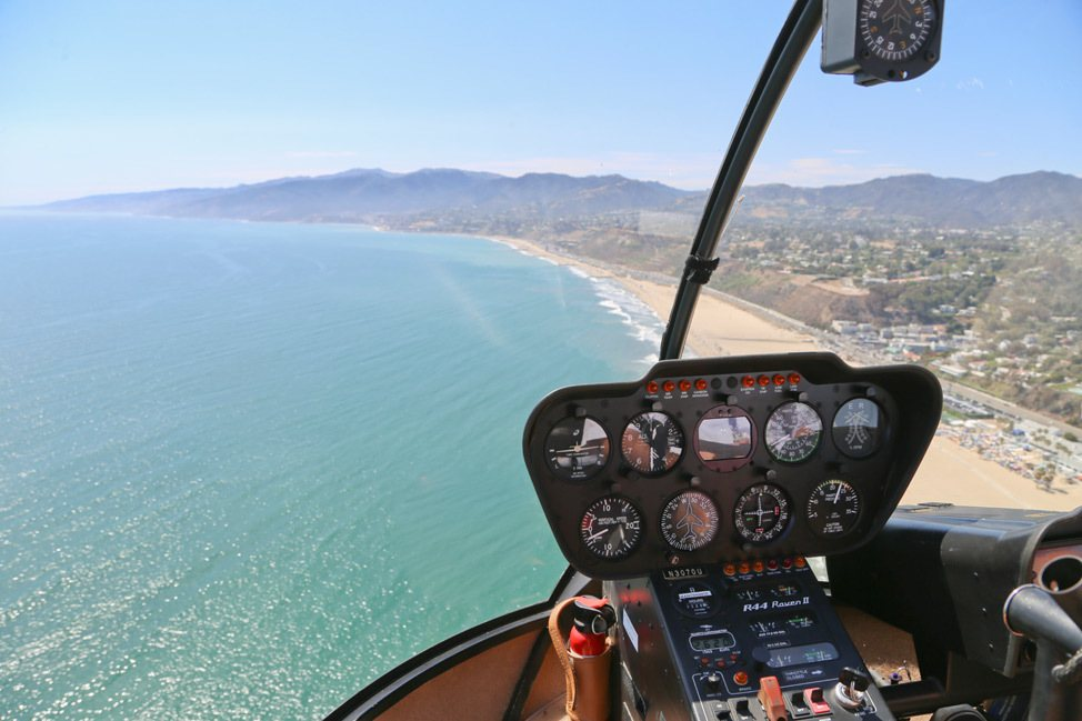 Helicopter Ride over Malibu