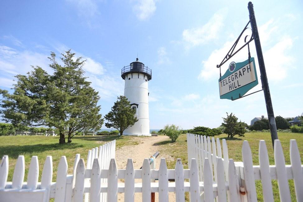Martha's Vineyard Lighthouse on Telegraph Hill