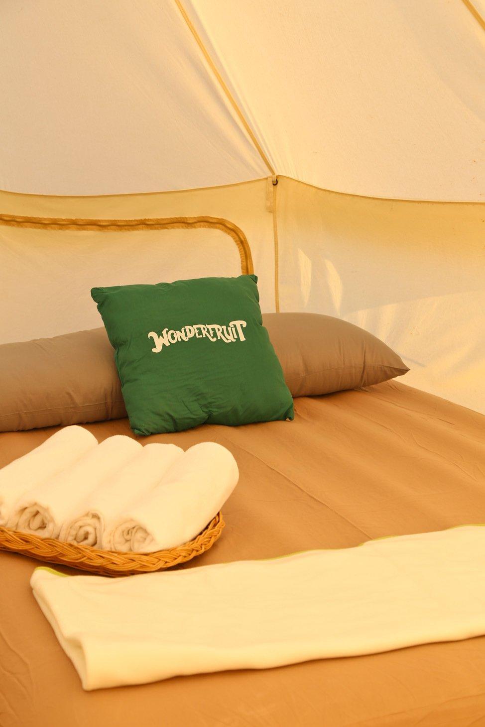 Boutique Camping at Wonderfruit 2017