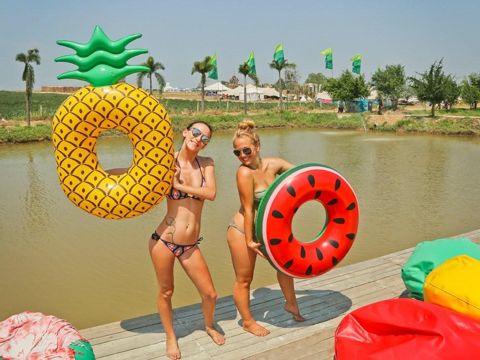Lake at Wonderfruit Festival Thailand 2017