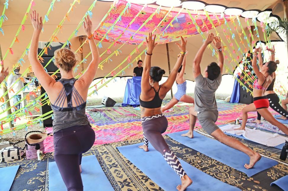 Yoga at Wonderfruit 2017
