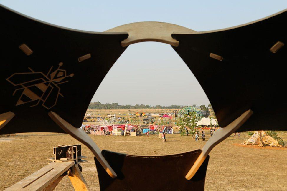 Solar Stage at Wonderfruit Festival 2017