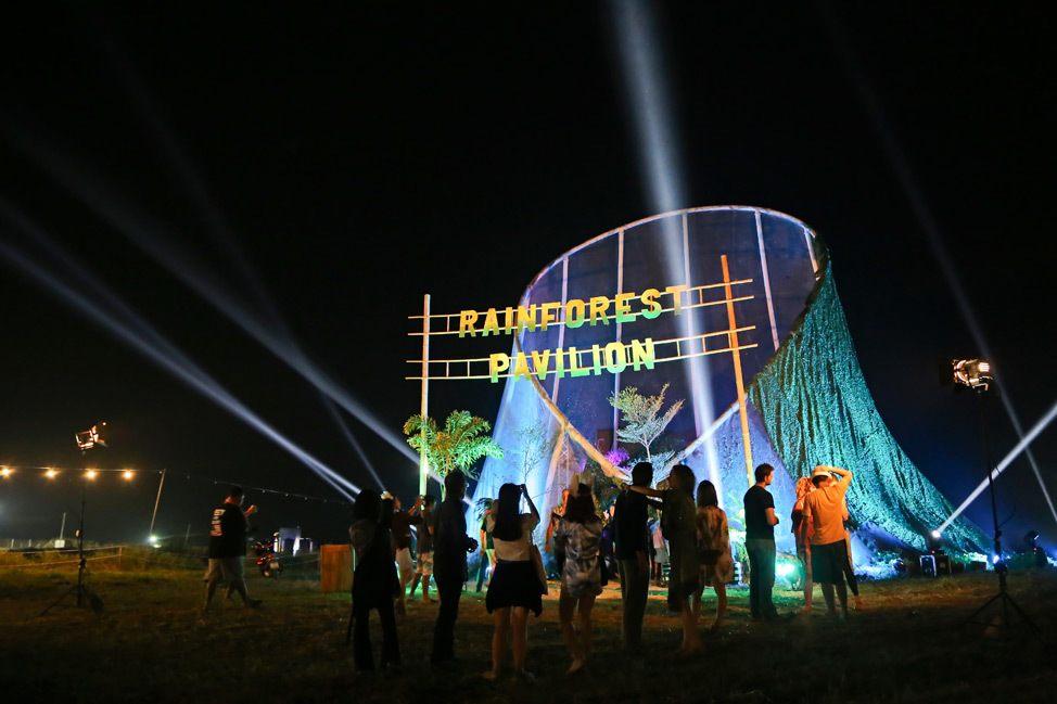 Rainforest Pavilion Wonderfruit