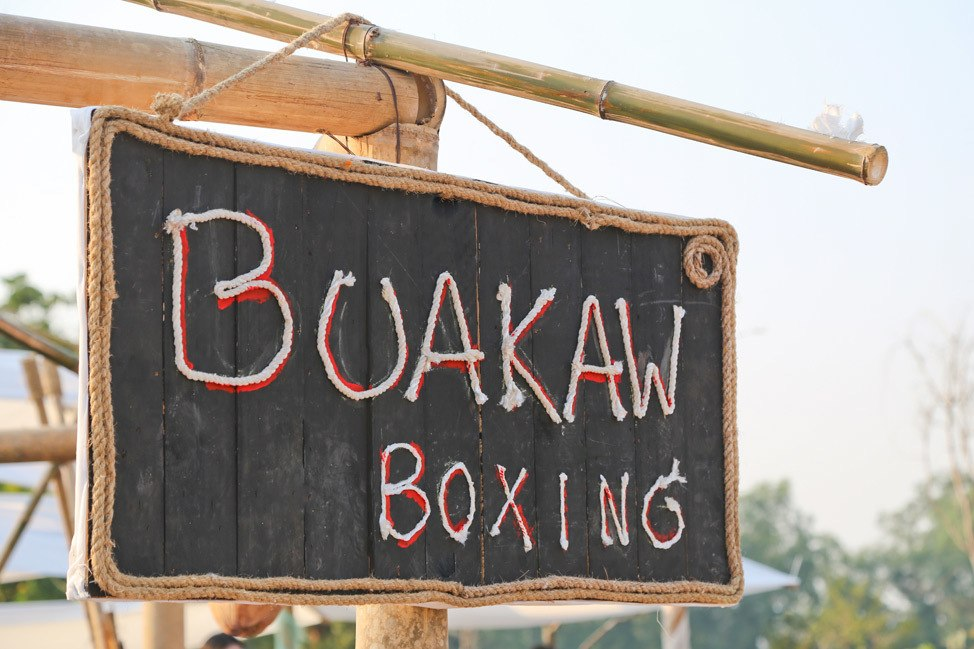 Buakaw Boxing at Wonderfruit